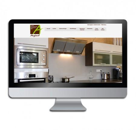 Etablissement Anglard – site internet artisan