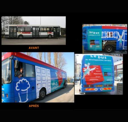 Modélisation bus 3d