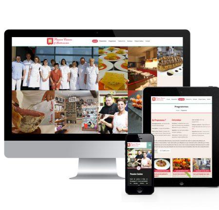 Passion cuisine – site internet