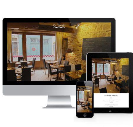 Les Canailles – restaurant – site internet